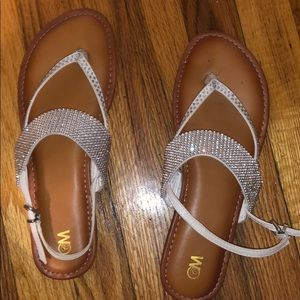Sparkly flip-flops